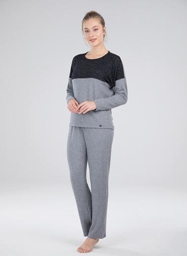 Blackspade Pijama Takım Gri